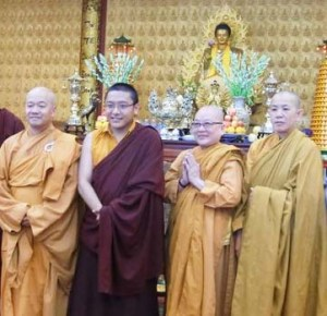 TJR with Vietnamese monks Houston Pasang photo CROP
