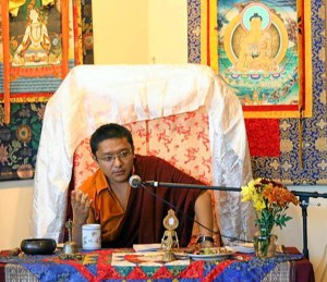 Tulku Jigme Norbu Rinpoche teaching at Dawn Mountain in Houston, Texas, USA.